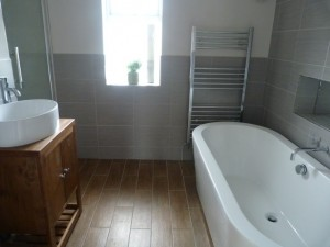 Bathroom transformation Bristol